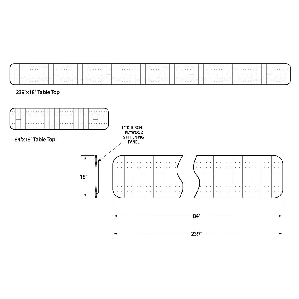 Custom Bartop and Counter Design
