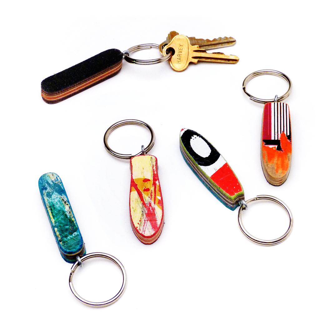 MicroDeck Skateboard Keychain