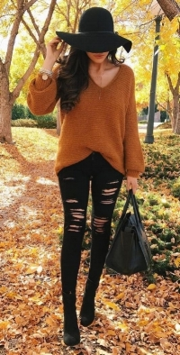 * Example Of My Perfect Go-To Fall Outfit