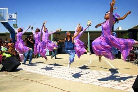 the Ethiopian-Israeli Beta Dance Troupe