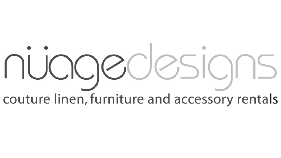 Nüage Designs - Unique linen and furniture rentals that elevate your wedding and event design to bring your dream party to life. Get inspired with our unparalleled selection of inventory or custom create your own!