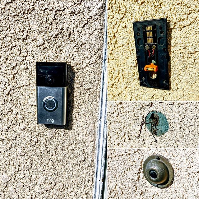Today we helped with the installation of a Ring doorbell.  Our customer required this installation to be wired and placed in the exact same location as the old doorbell switch.  We were happy to help in this beautiful California weather!  We love our community; we love what we do.  www.voltex-electric.com  #lompoc #service #santabarbara #solvang #Buellton #santamaria #electrician #electric #homes #homeideas #contractor #construction #remodel #homerenovation #electricians #beautifulhomes #hgtv #santaynez