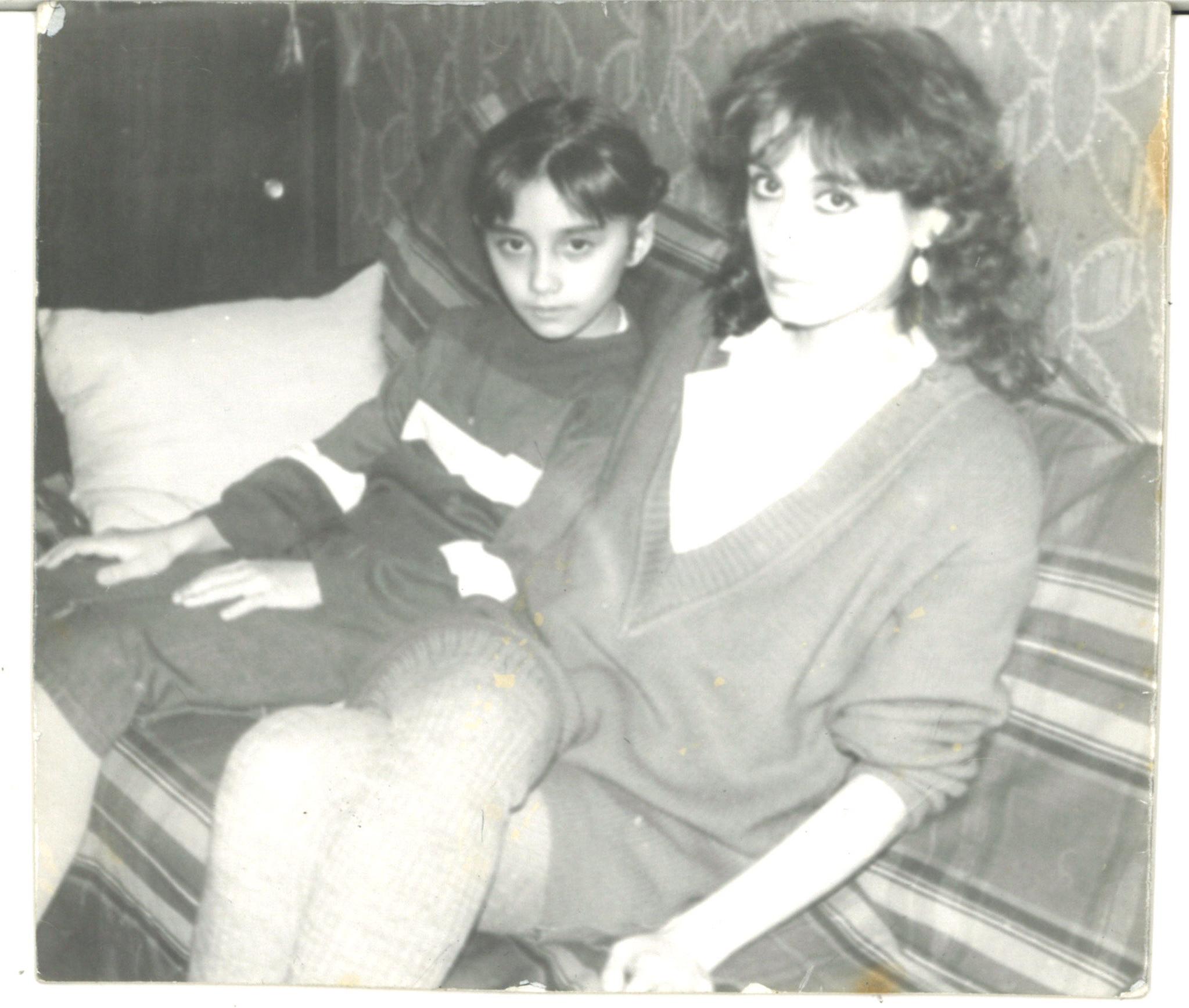With Luda - Leningrad, 1988