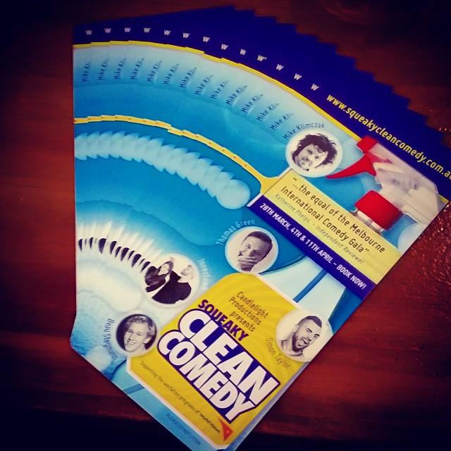 The Squeaky Cleaners distributed over 2,000 #SqueakyCleanComedy flyers this morning! Top job - Can't wait for next Saturday night!!! #OpeningNight #bubbles #comedy #SCC #candlelightprod