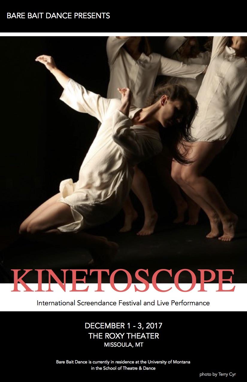 - Kinetoscope: 5 | festival playbill cover