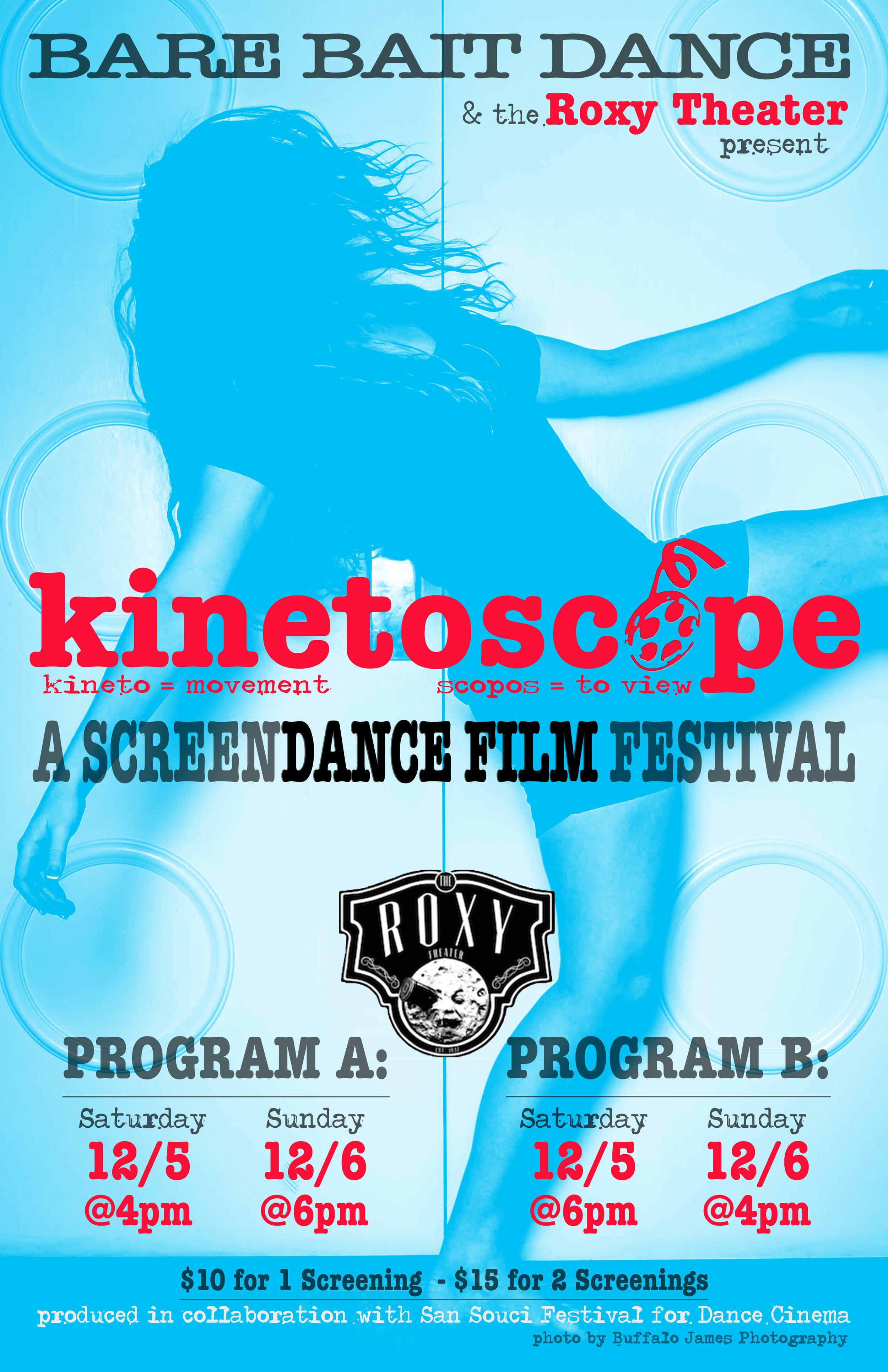 - Kinetoscope:3 | festival playbill cover
