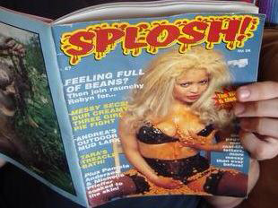 A Nostalgic Look Back at Splosh! Magazine - It is my sad duty to inform aficionados of pudding cleavage & pork panties both near & far that Bill Shipton, founder of Splosh!Magazine, passed away this summer.Read More on Last Gasp...