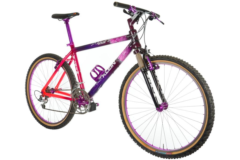 Tinkers team bike: https://www.pinkbike.com/news/now-that-was-a-bike-1993-klein-adroit.html