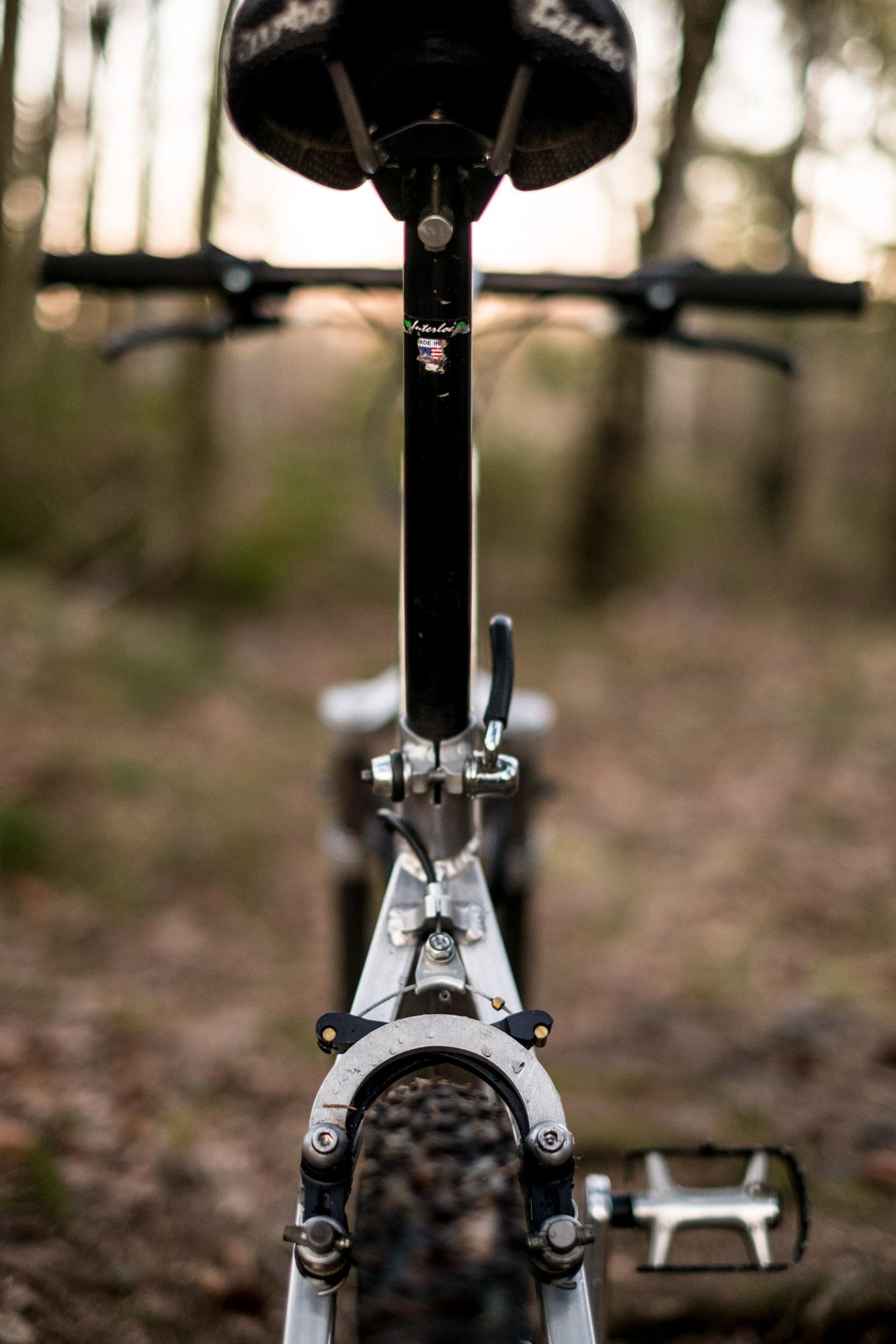 IRD seat post and brake - Bradbury brake arch