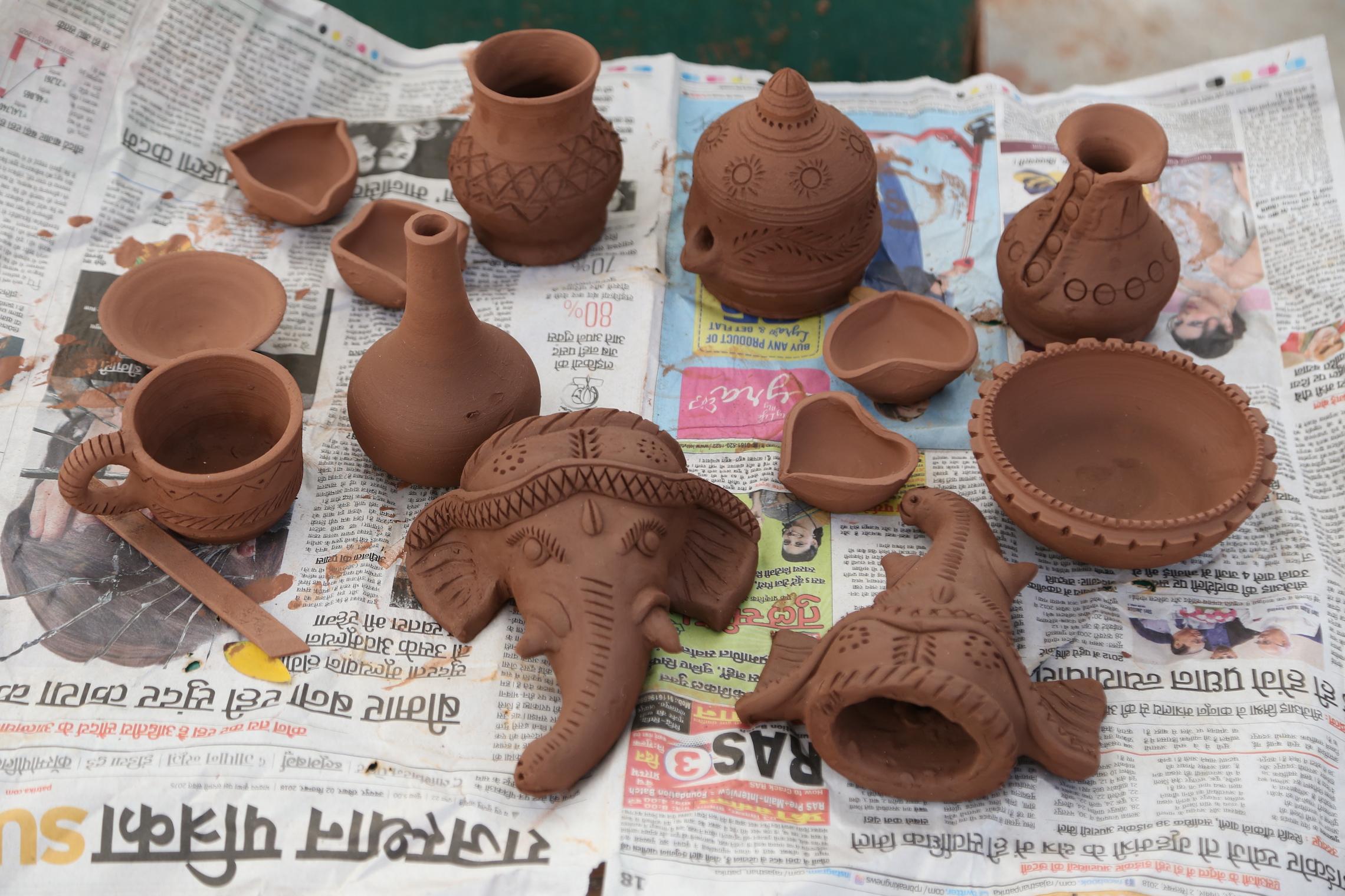 Terracotta Molela  by Deepak Kumbhar