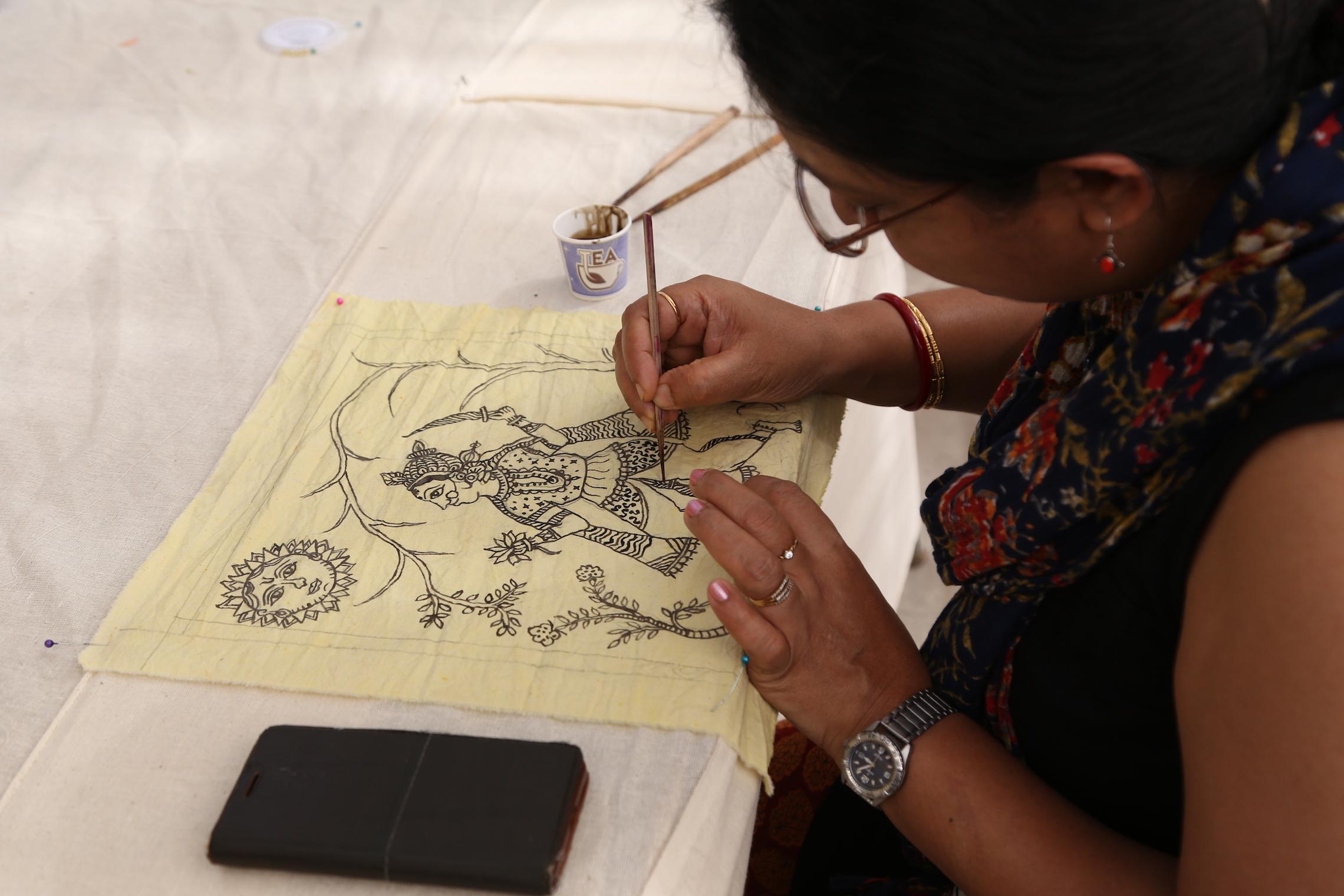 Mata ni Pachedi  by Chandrakant Chitara