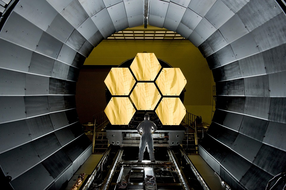 James Webb Space Telescope - Not the telescope you would find in Joe's backyard. But looking at this image, it looks simpler than most astronomy imaging telescopes we've seen.