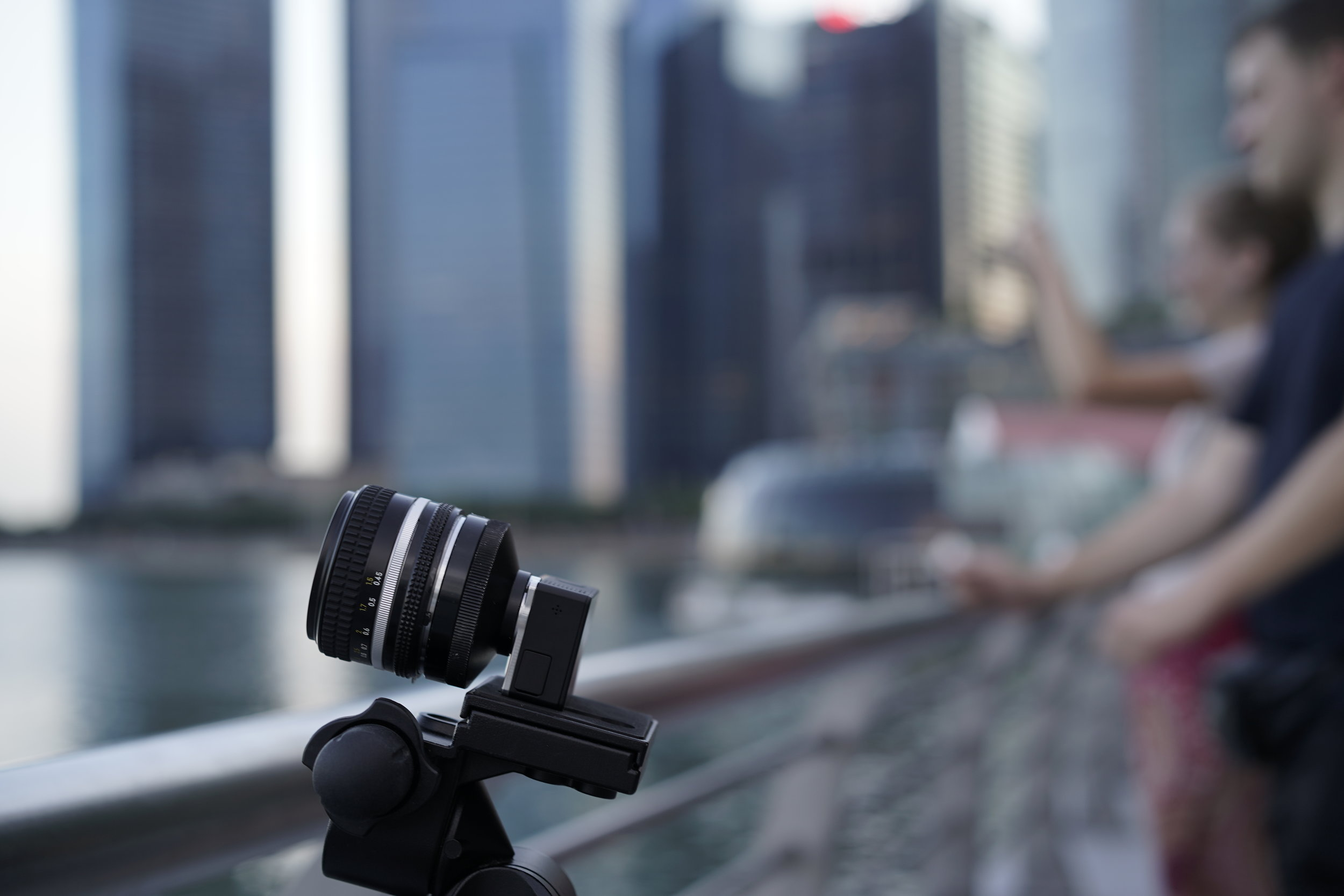 Astronomy imaging in the city? With the right subjects, why not?