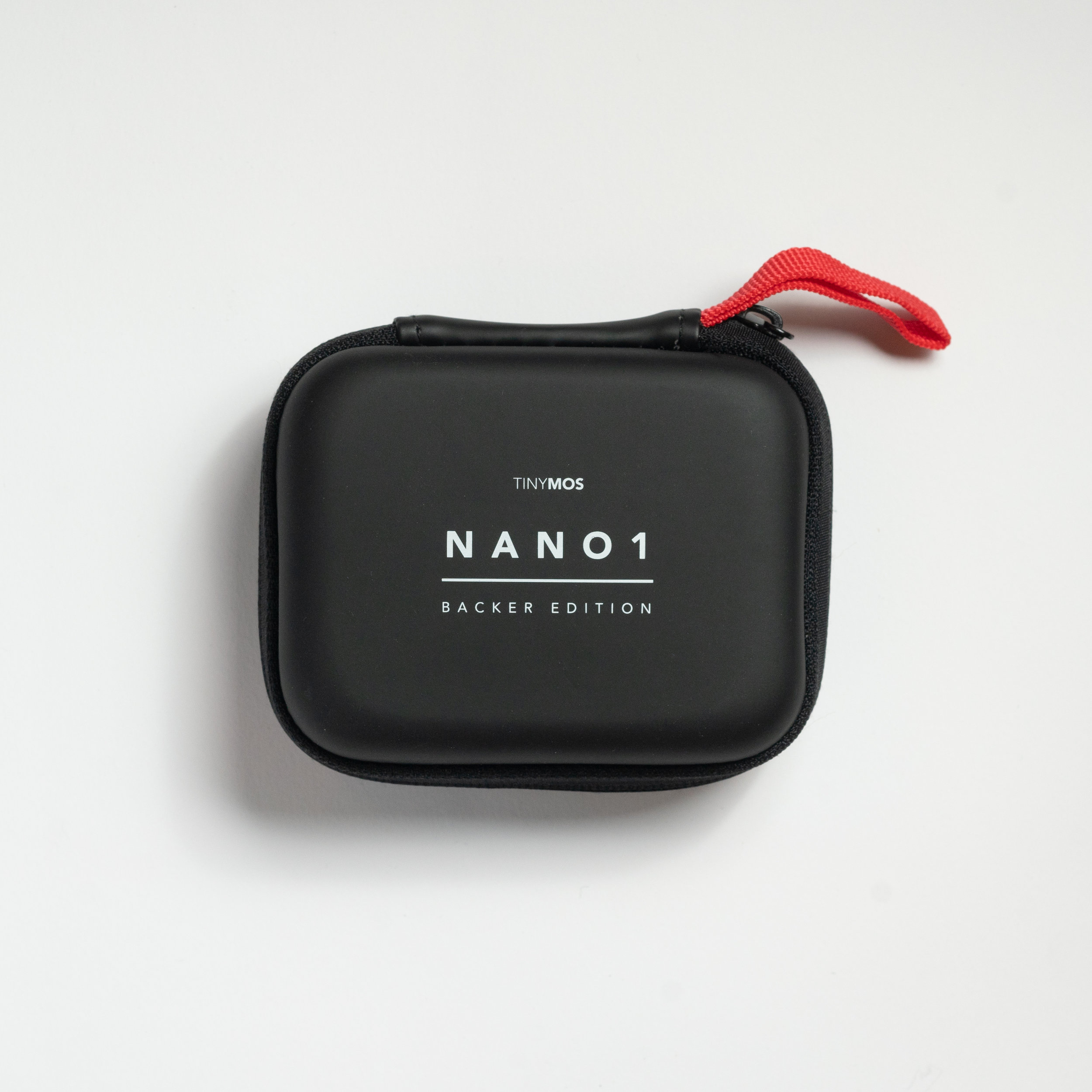 The NANO1 case has a loop for you to hook it to your bag for easy carrying