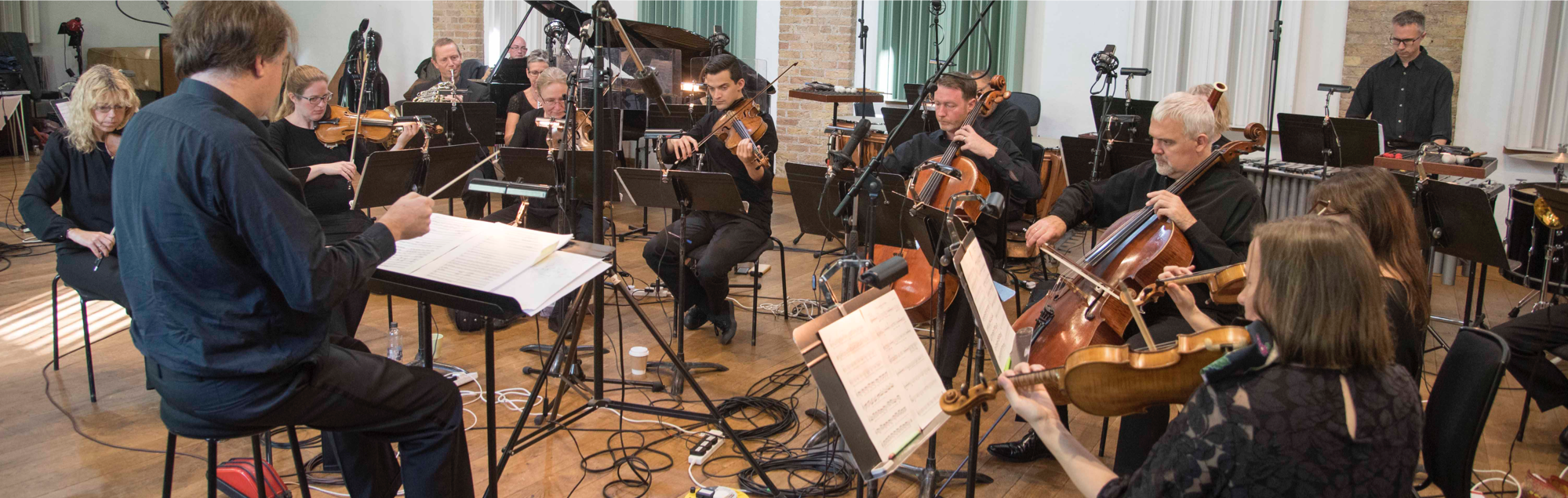 New Music Players conducted by Nicholas Smith. The Warehouse, London 28 Sept 2018