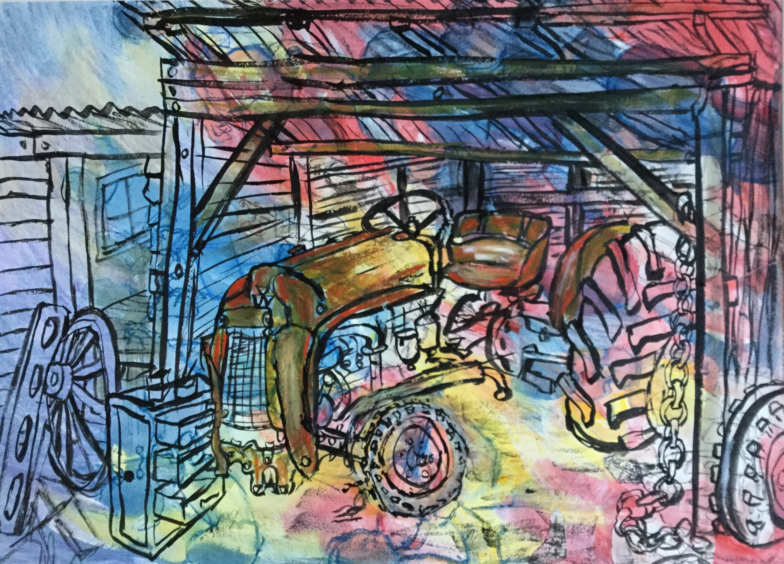 3. 44.Suzanne Hennessy A Man's Shed.jpg
