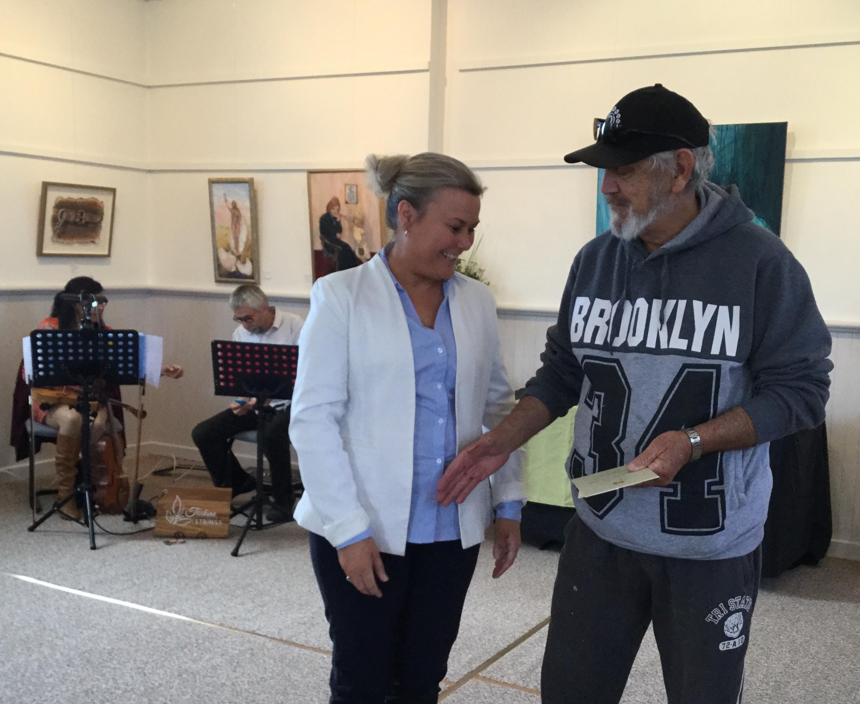 Anita Dow MLC Award winner Richard Griffiths