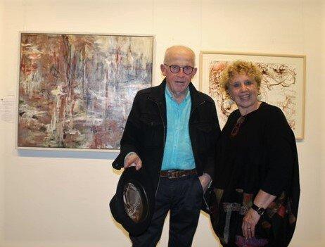 Eleanor with Judge Denis Clarke