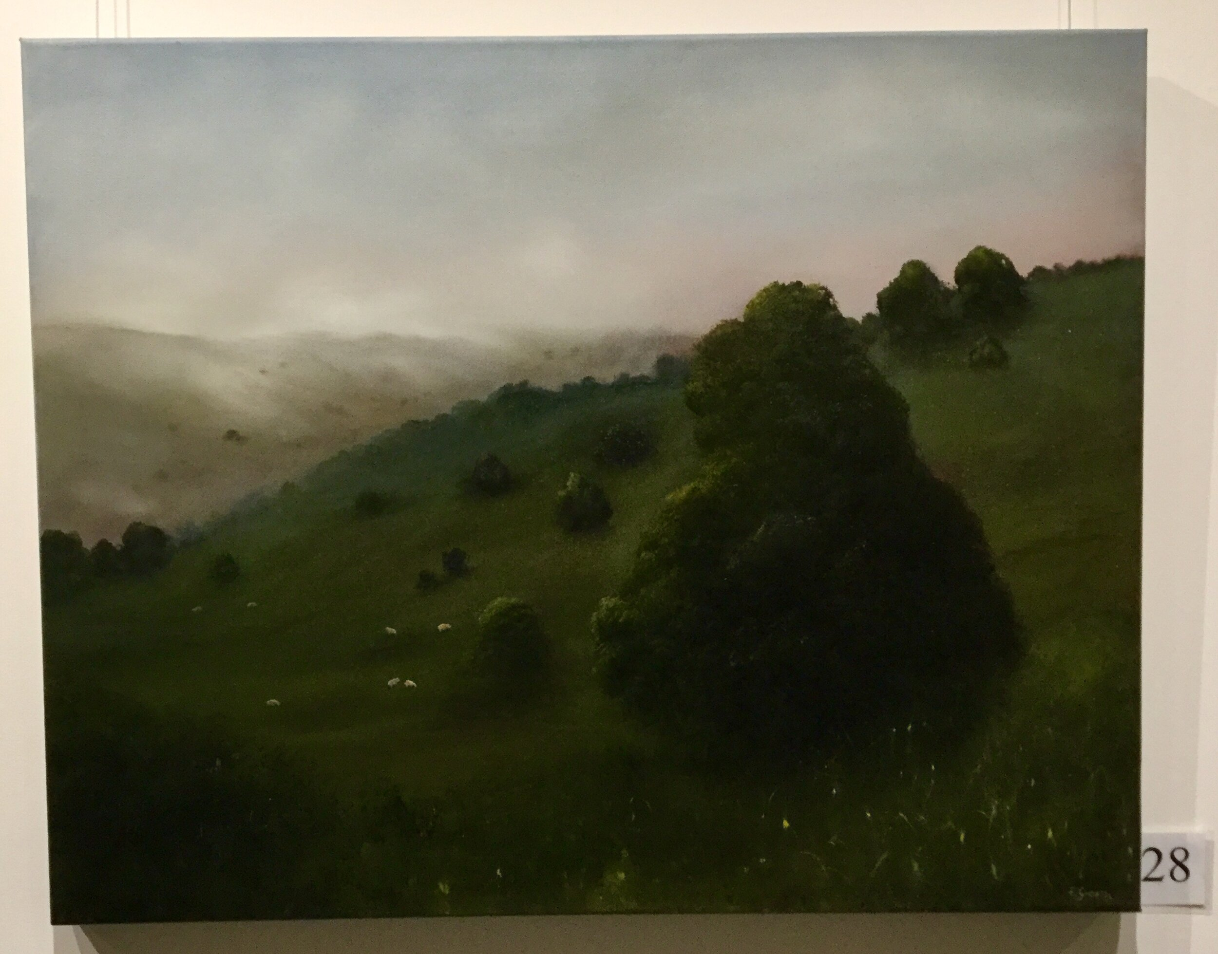 Wellers Inn Highly Commended Elaine Green Afternoon Serenity