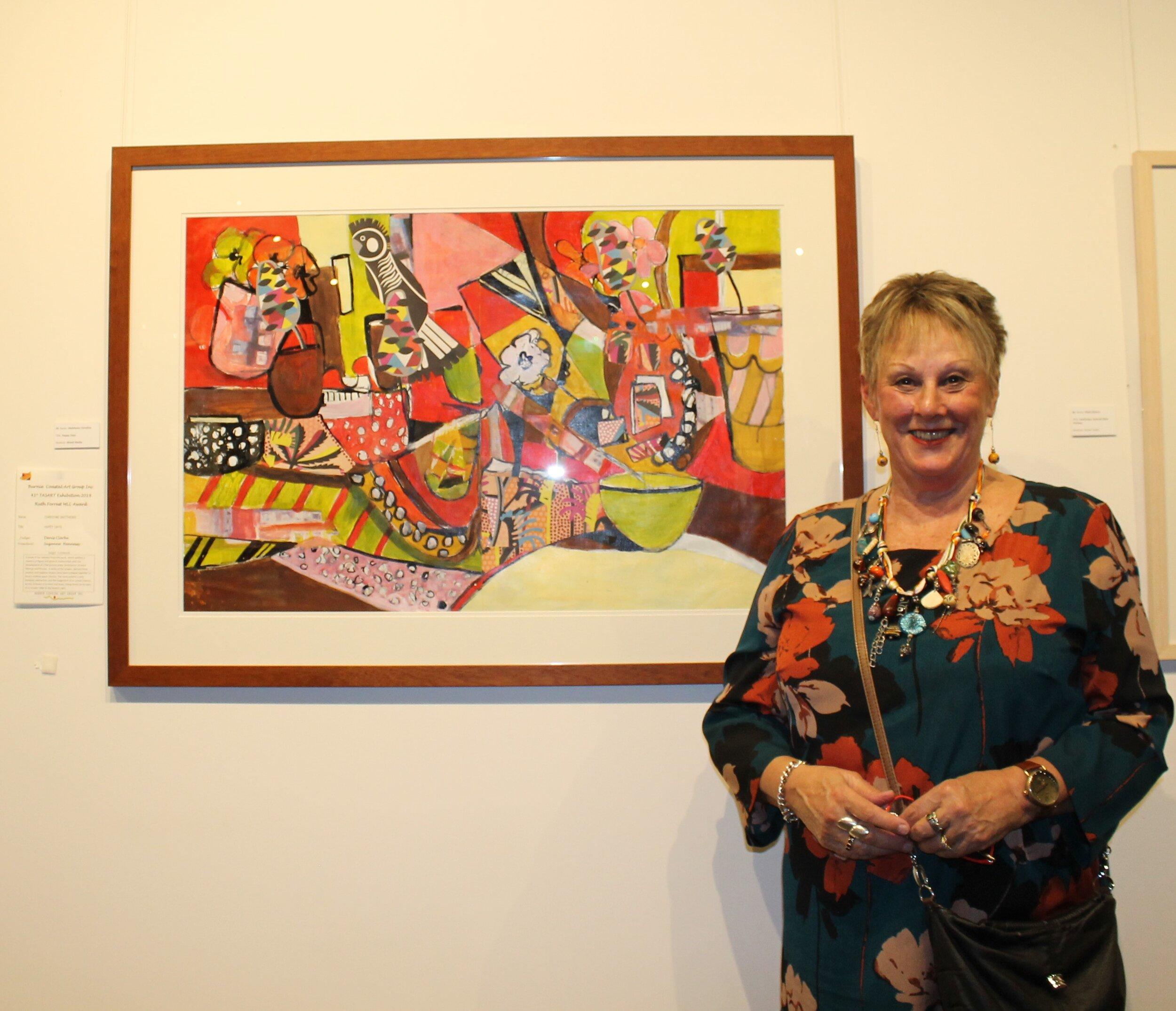 Ruth Forrest MLC Award Christine Matthews Happy Days