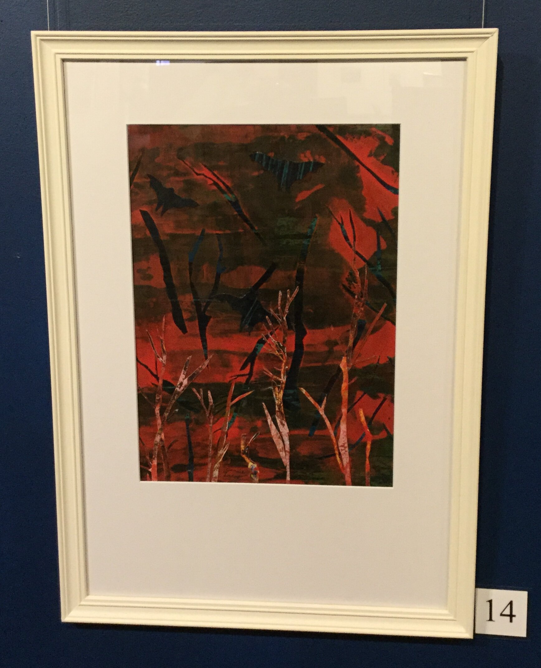 Ruth Forrest Highly Commended Connie Lucas Fiery