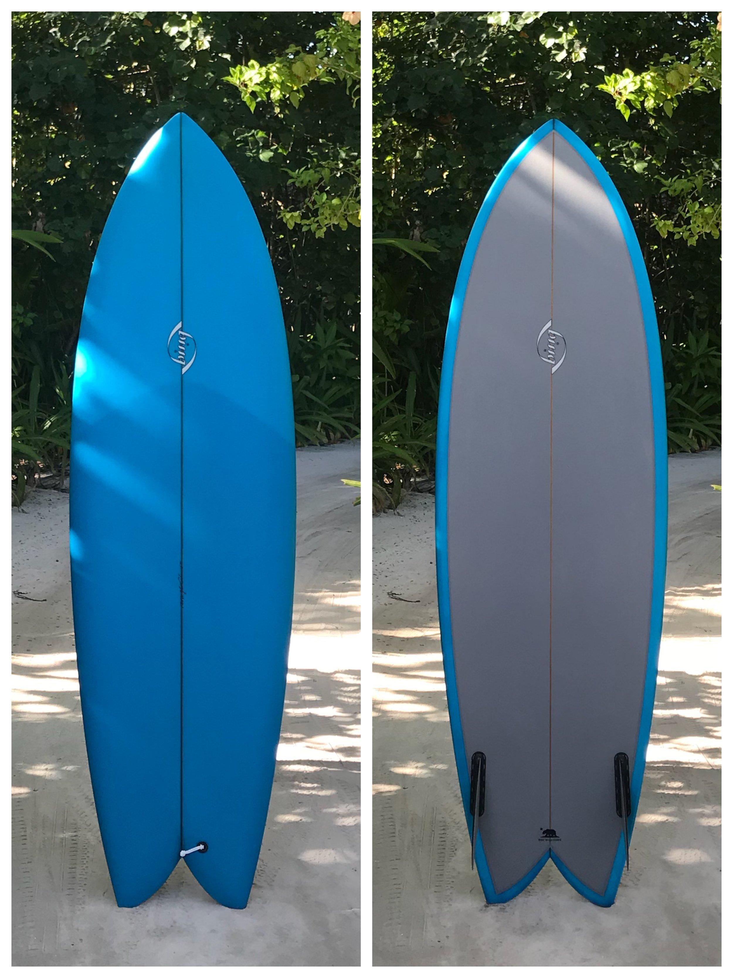 6'0 x 21.25 x 2.75 (36.8L) Bing Sunfish