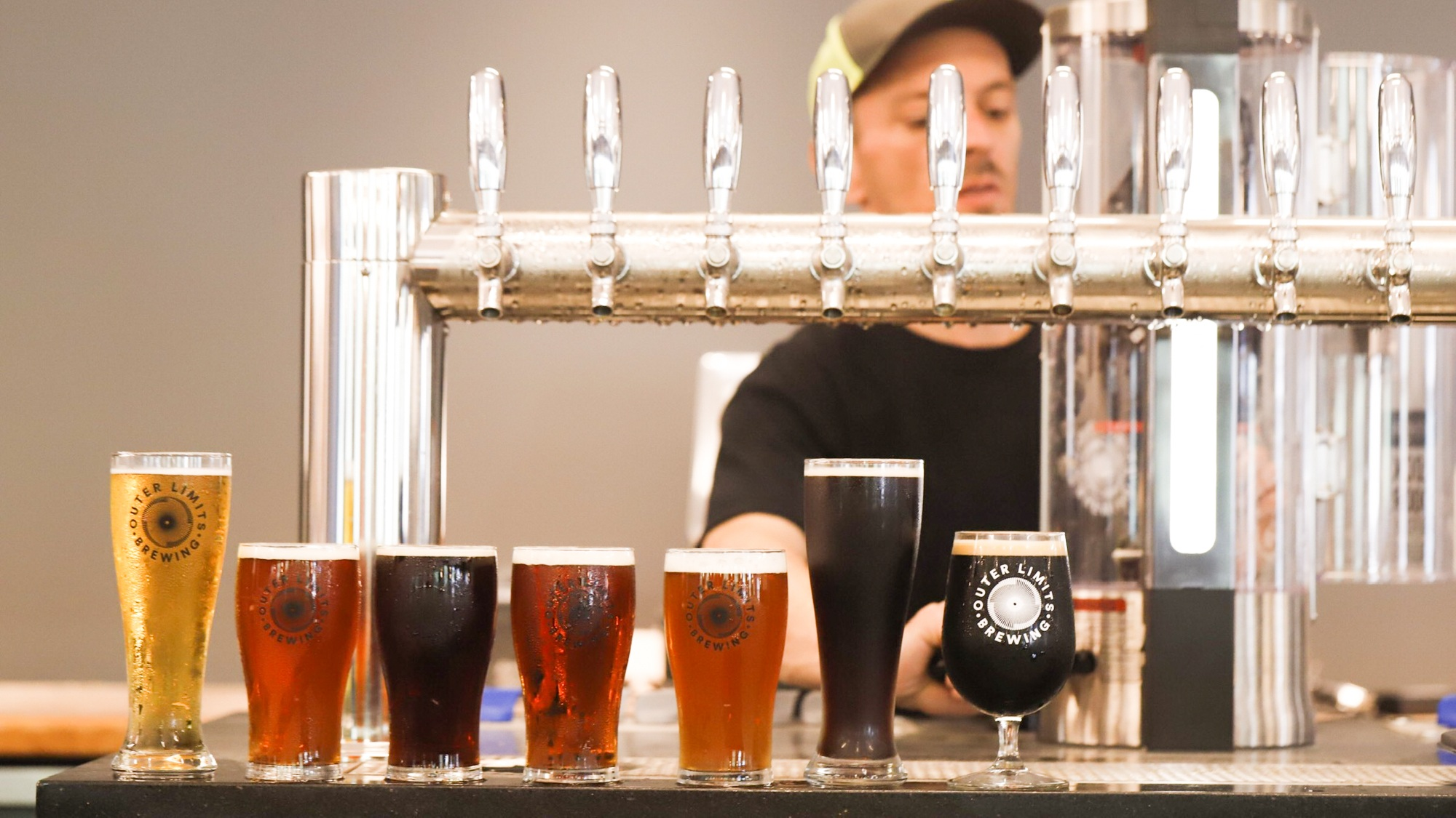 What's on tap - Here's our selection