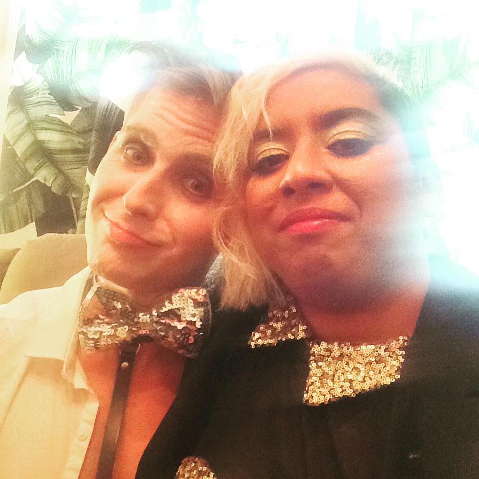 Bradley & Tiara Photoshoot Candid