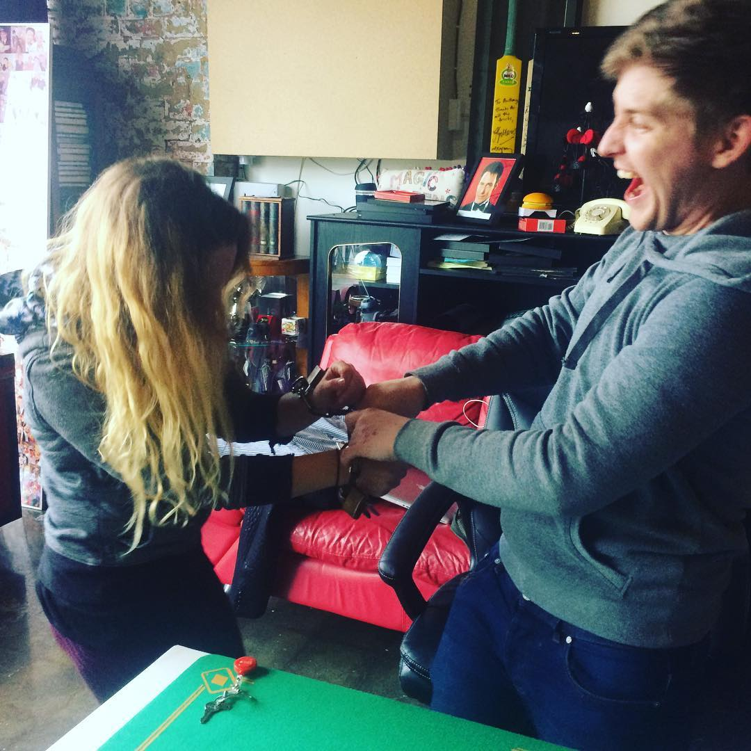 Chelsea & Bradley Try Escapology at Magic School of Confidence