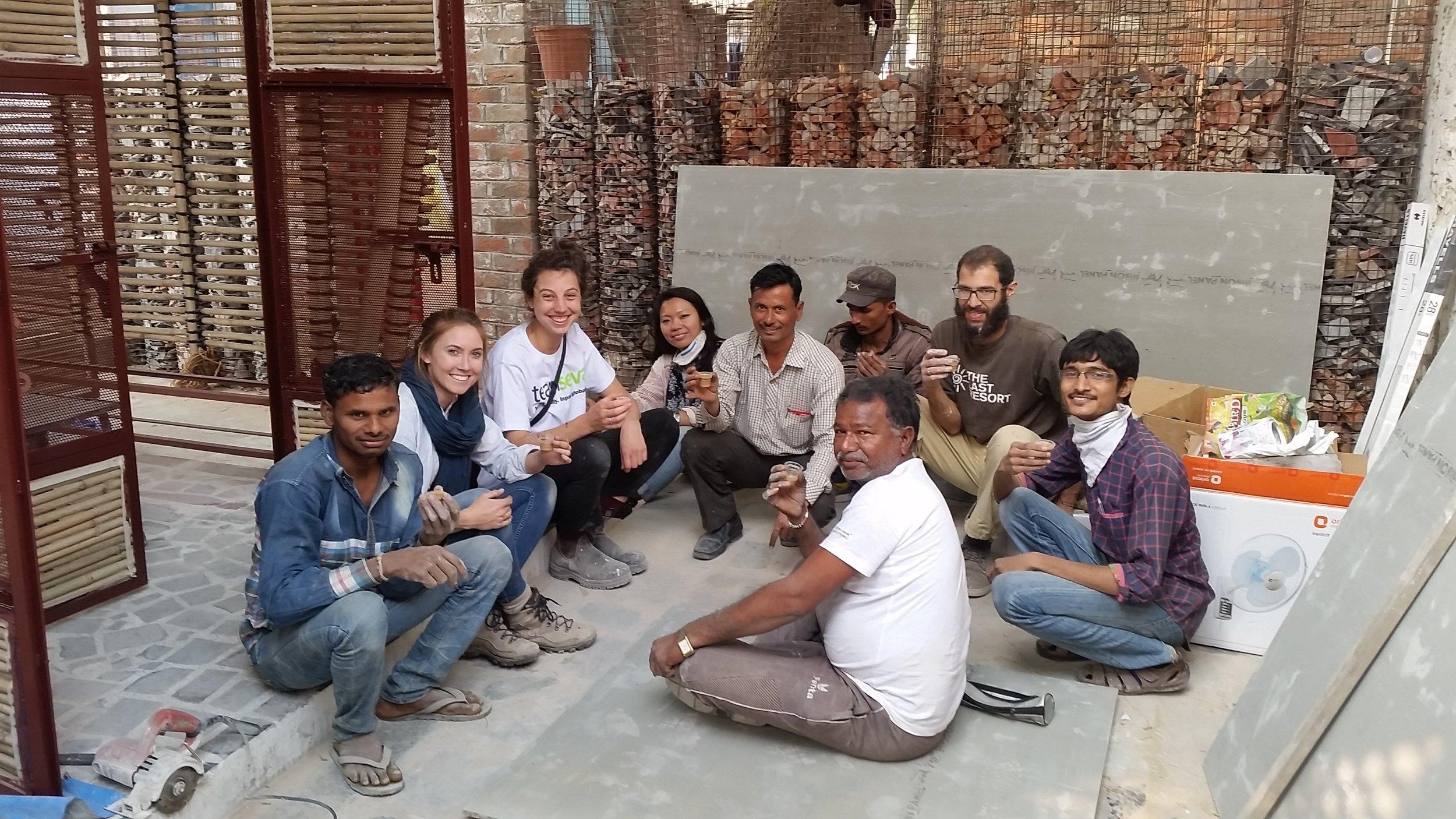 Bholu 14_team photo drinking chai_high res.jpeg