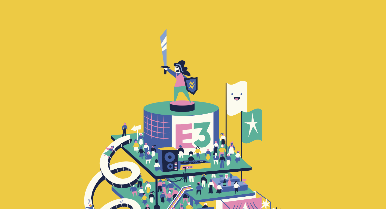 Gamesindustry.biz issue 2. magazine cover design