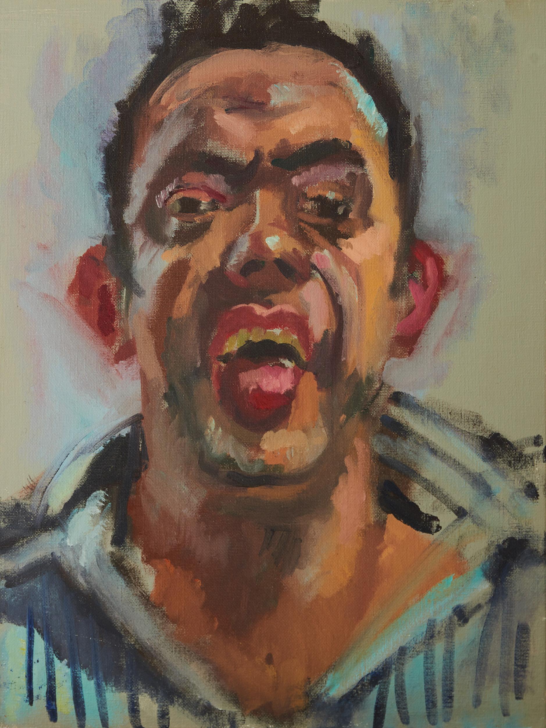 Self Portrait, Tongue Out