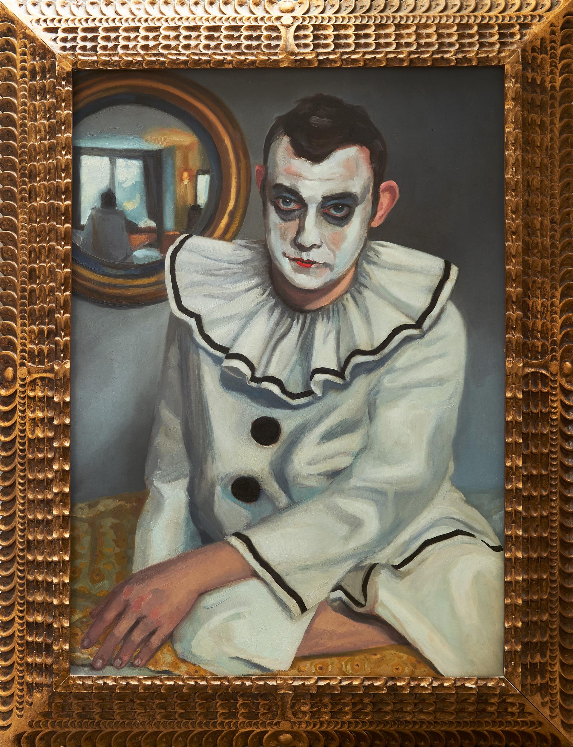 Pierrot in an Interior