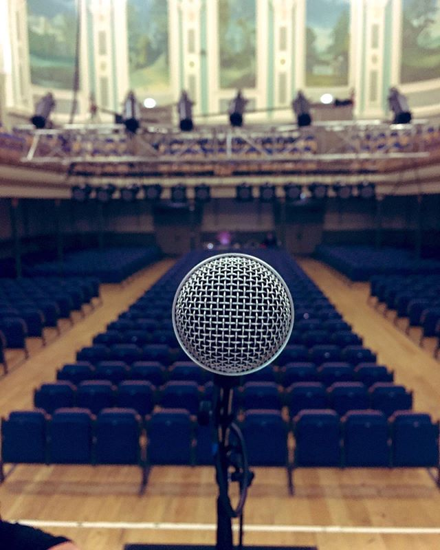 Last night of the tour supporting @paulbradymusic and @theokatzman!  What a venue!!! #ulsterhall #belfast #soulsinsynctour #paulbrady #theokatzman