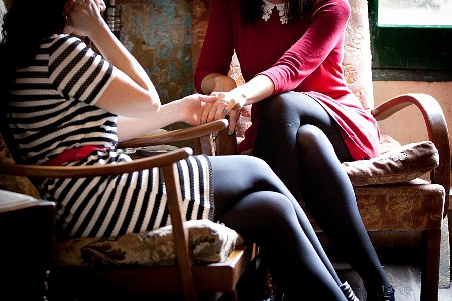 Same Sex Engagement Photoshoot London