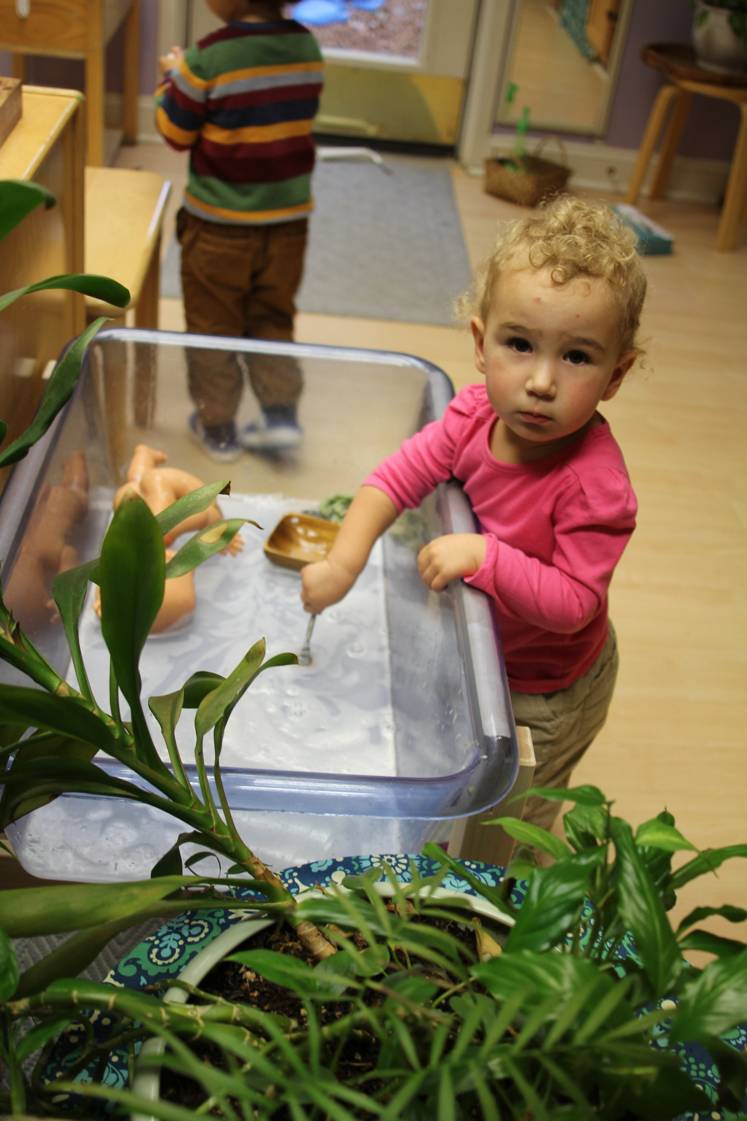 Bubbles in the water table