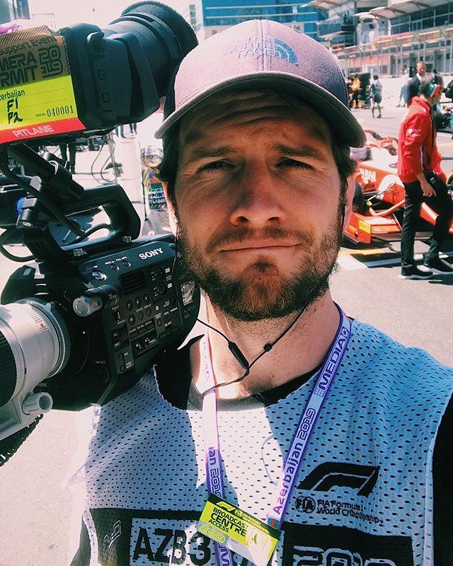 Back from Baku. Second weekend on Formula 2 ✅. Lots of fun, lots of DNFs ❌. Documentary in progress 🏎💨 Barcelona next stop 🚦🚦🚦🚦🚦 . #director #sonyfs7 #production #fs7 #producer #f2 #baku #northface #selfie #bts #productionlife #content #editor #cameraop #documentary #motorsport #azerbaijan #f1 #filmcommunity