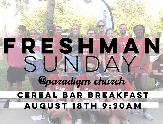 Welcome back OU students! Come kickoff with us tomorrow!! #boomer #sooner #ou #cerealfordayyzz