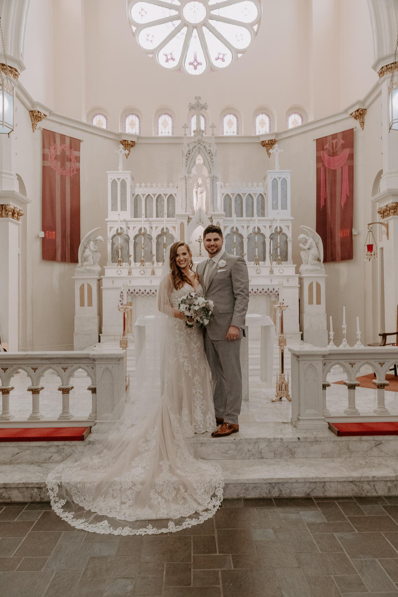 Catholic Houston Texas Flare Wedding Bell Tower-7931.jpg