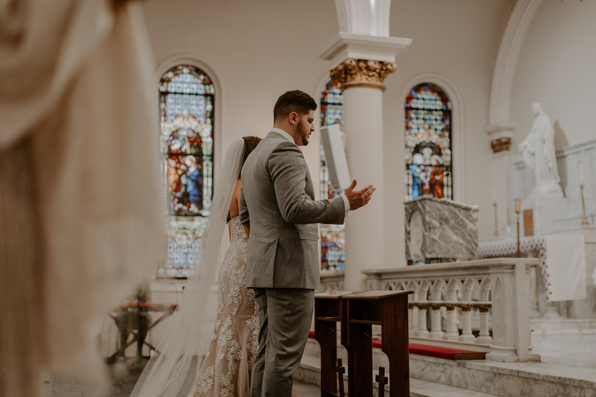 Catholic Houston Texas Flare Wedding Bell Tower-7775.jpg