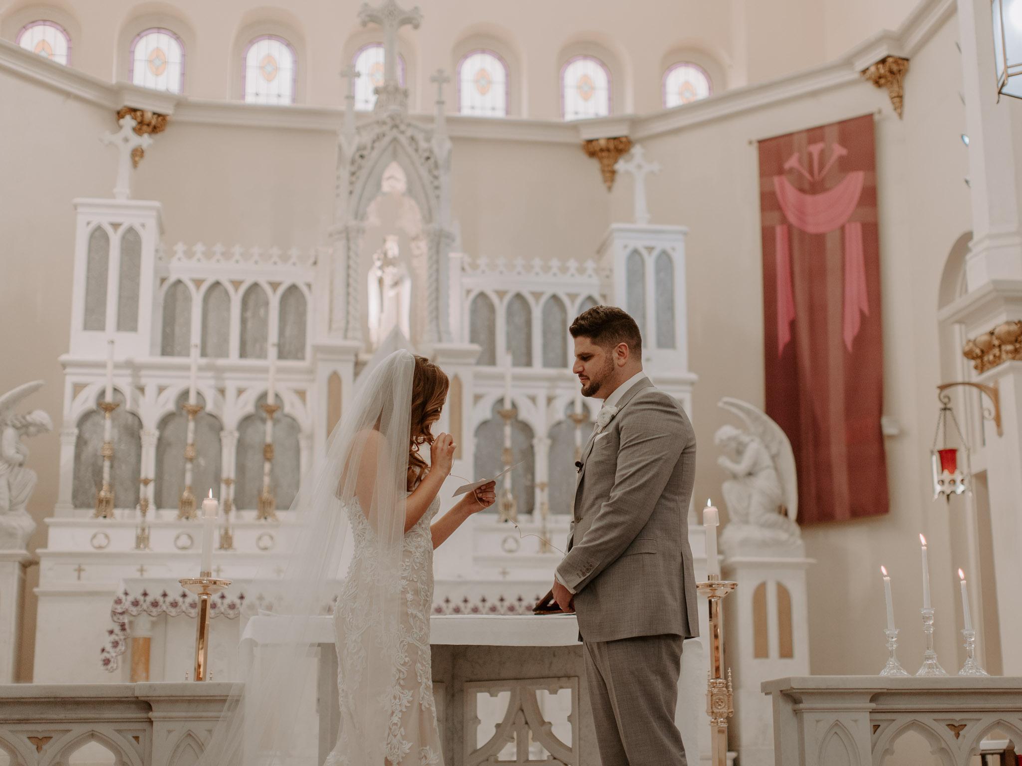 Catholic Houston Texas Flare Wedding Bell Tower-7816.jpg