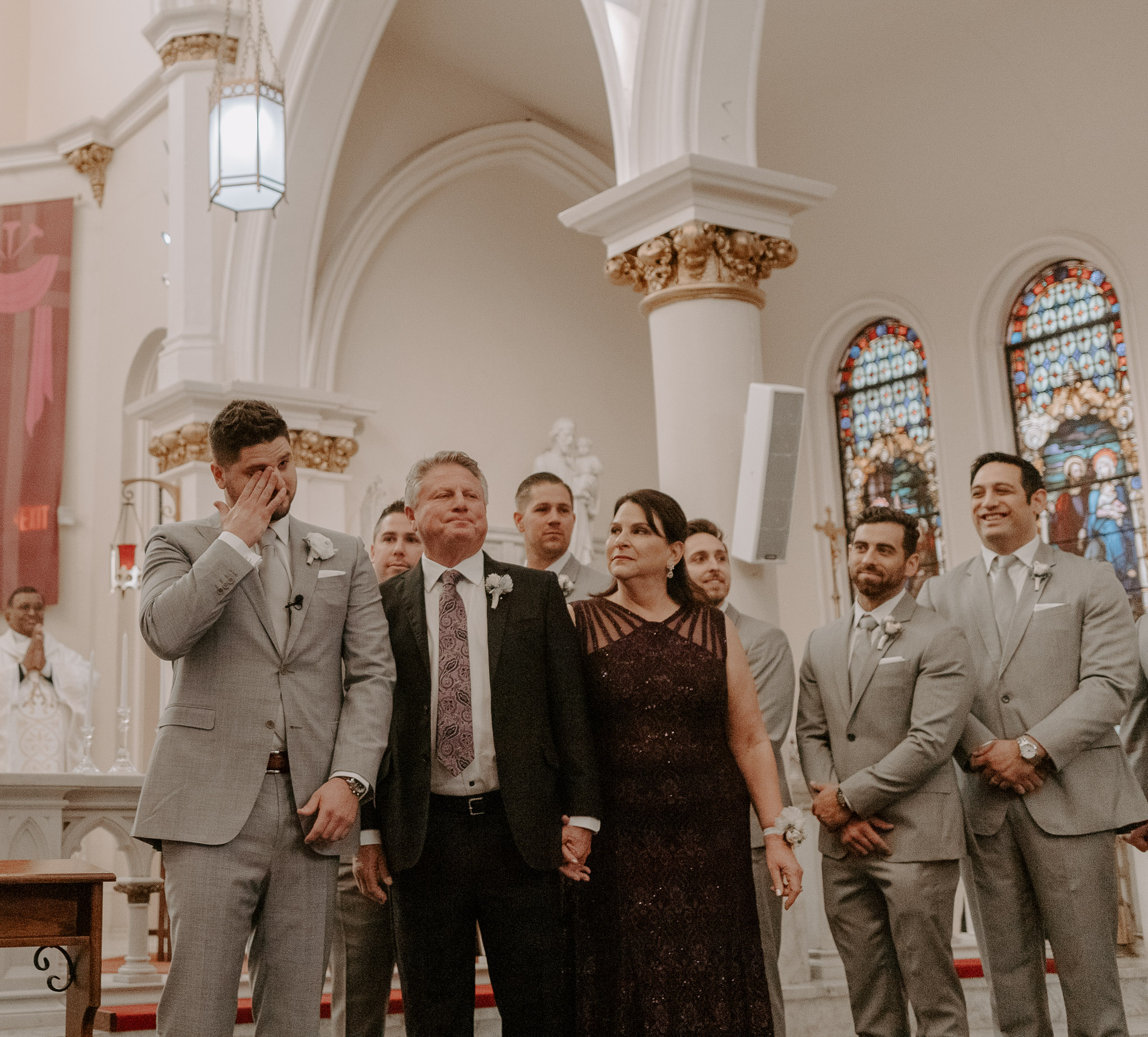 Catholic Houston Texas Flare Wedding Bell Tower-7637.jpg