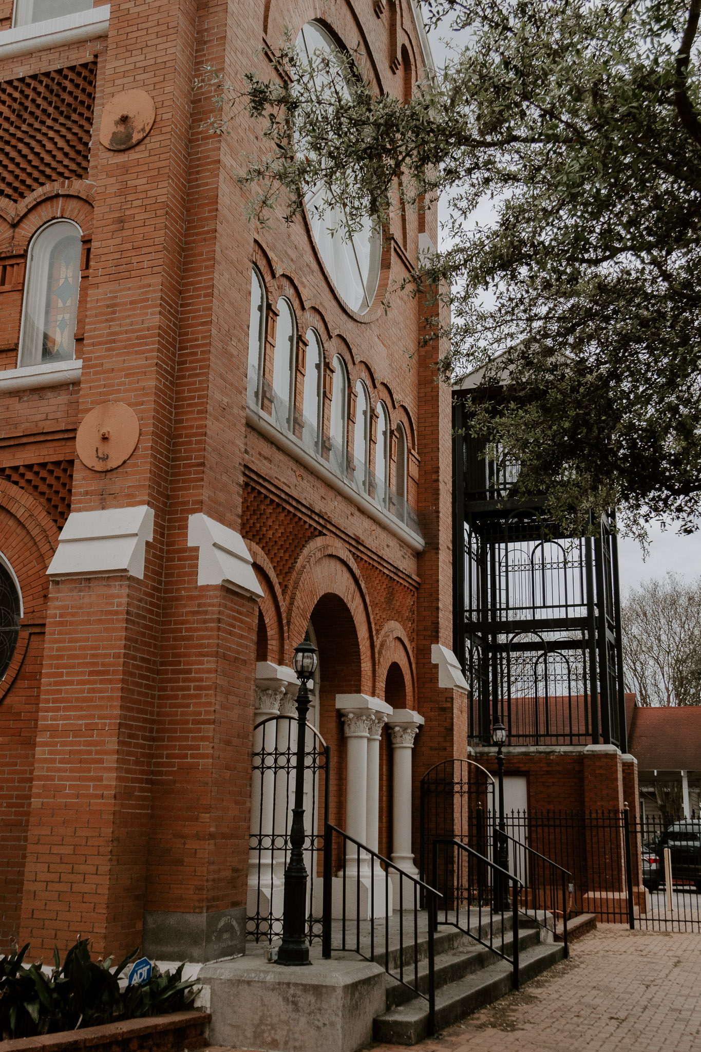 Catholic Houston Texas Flare Wedding Bell Tower-1282.jpg