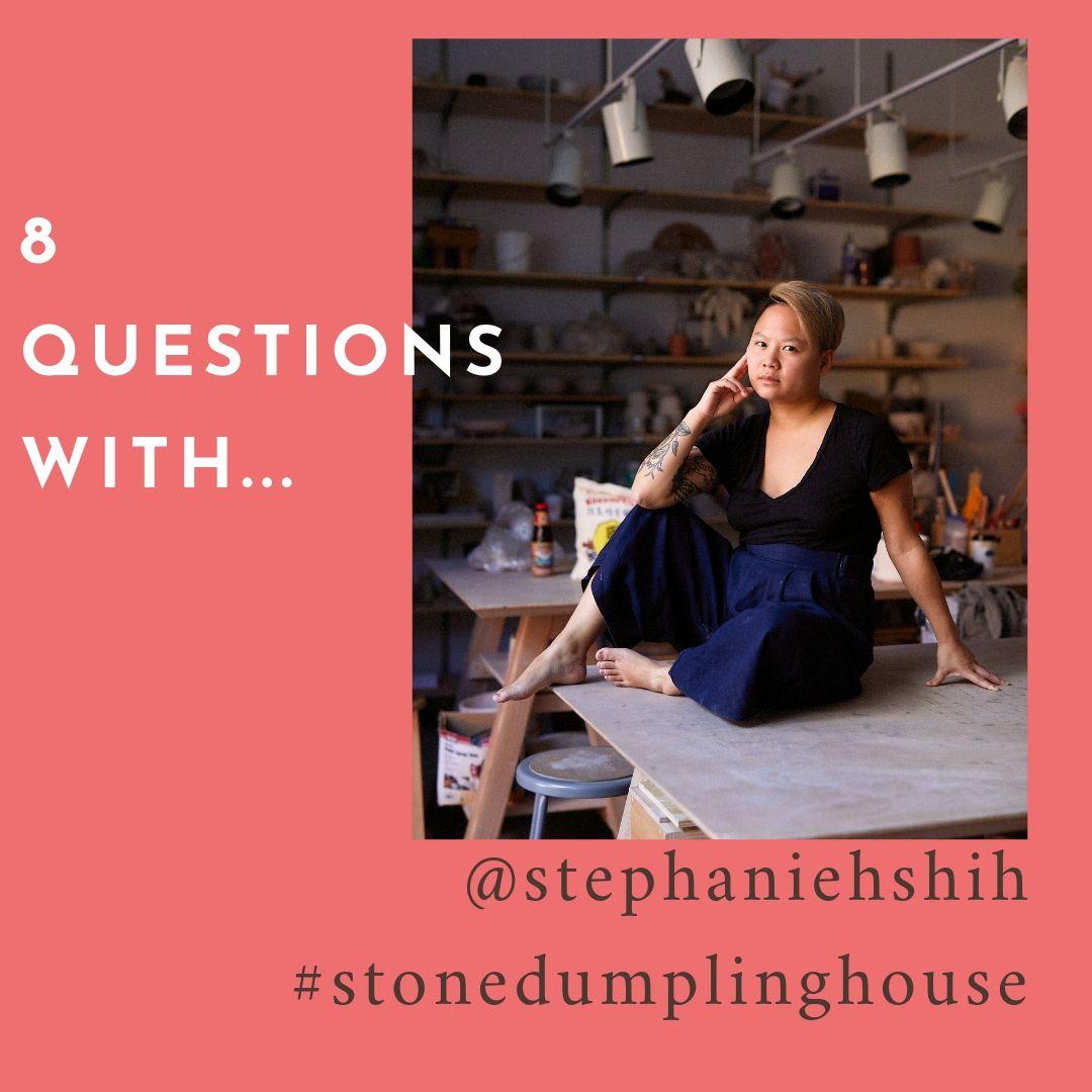 Ceramicist  @stephaniehshih   stonedumplinghouse.com