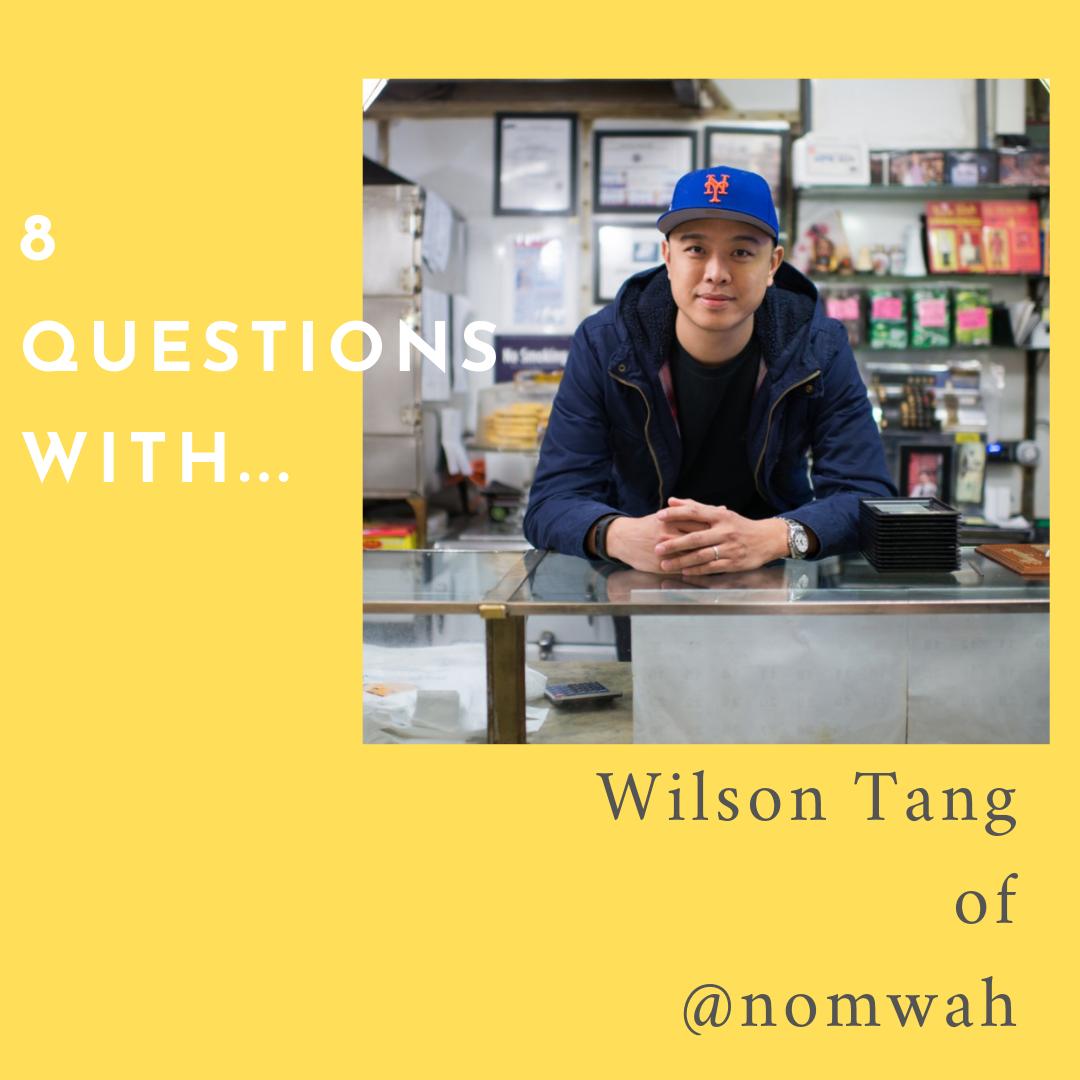 Wilson Tang ( @dimsumnyc ) of  Nom Wah . Photo by Ximena Etchart.