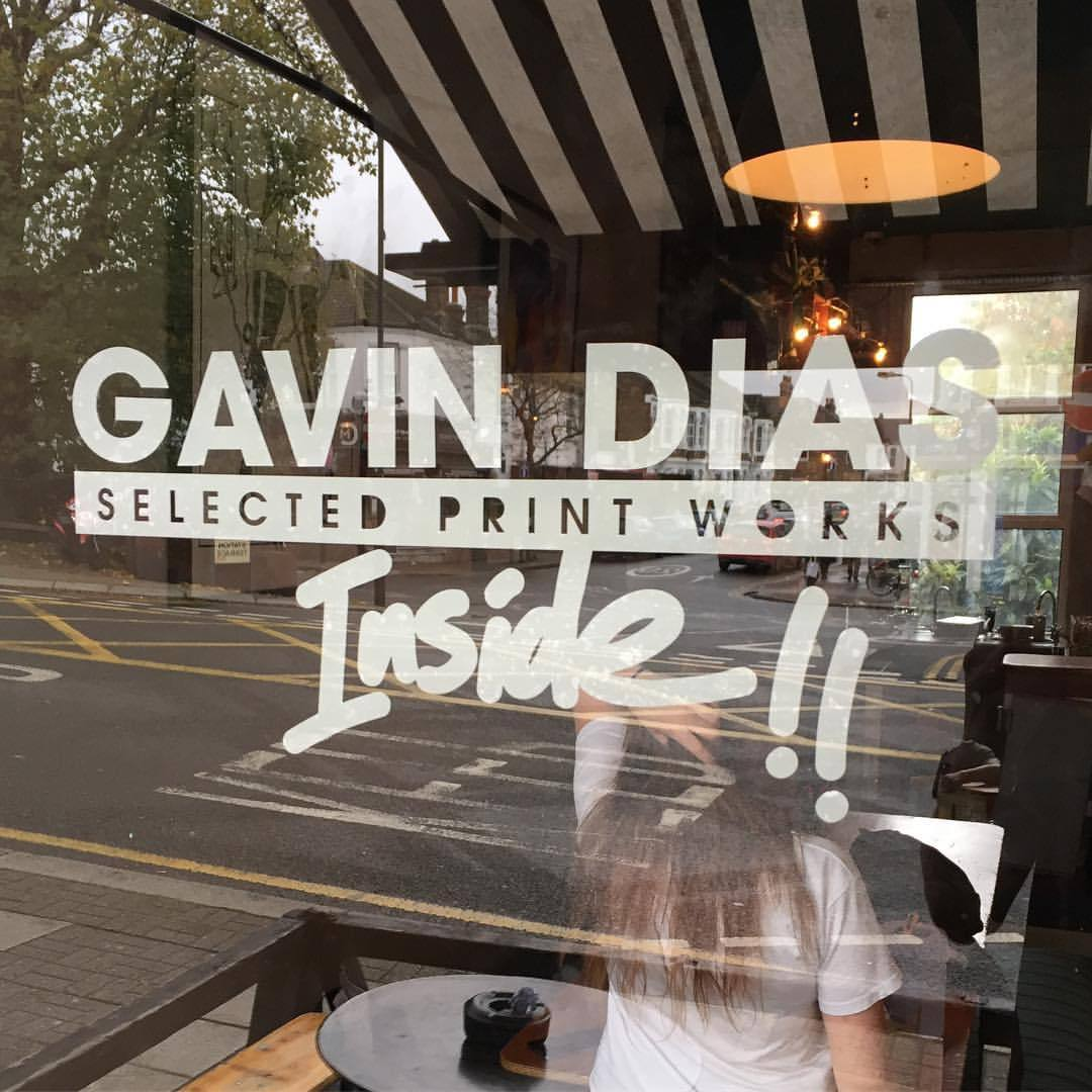 My 'Selected Print Works' Exhibition in a small bar in NW London called 'The Shop NW10'. I was glad to have all my friends turn up for what was a great evening. My work was up from November 2017 - April 2018. I also have to say thank you to the buyers' patience to allow the work to be shown until the end of the Exhibition!