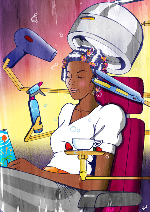 Automated Hair Salons (Women's version)
