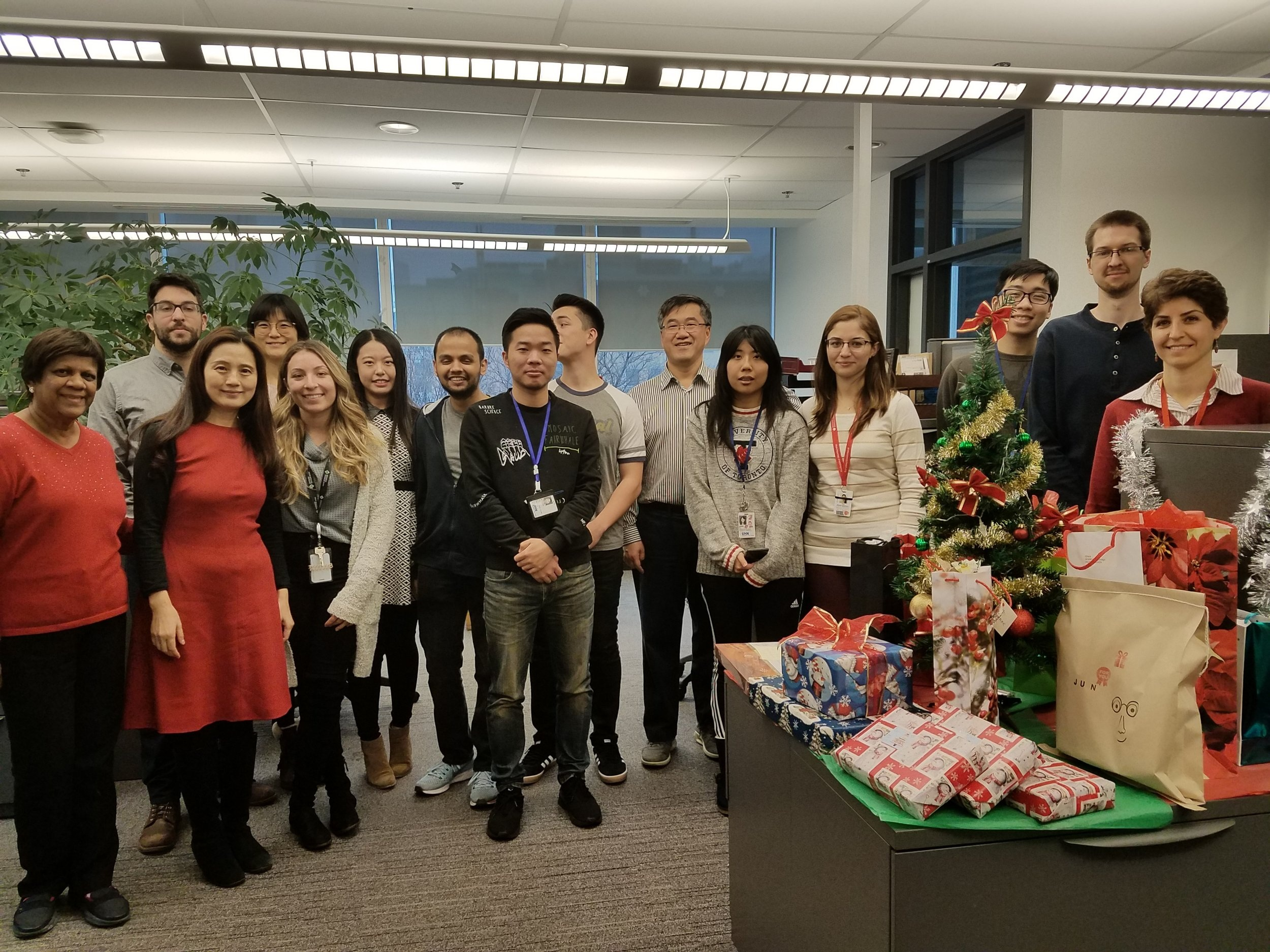 Merry Christmas and Happy New Years from every member of the Ren-Ke Li lab! December 14th, 2018.