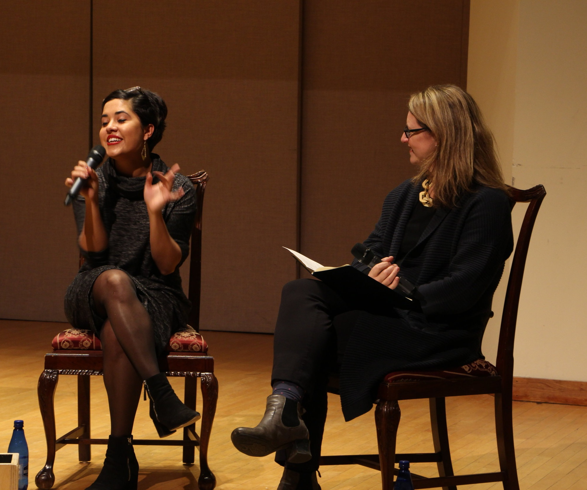 On Stage Interview with Alexandra Smither