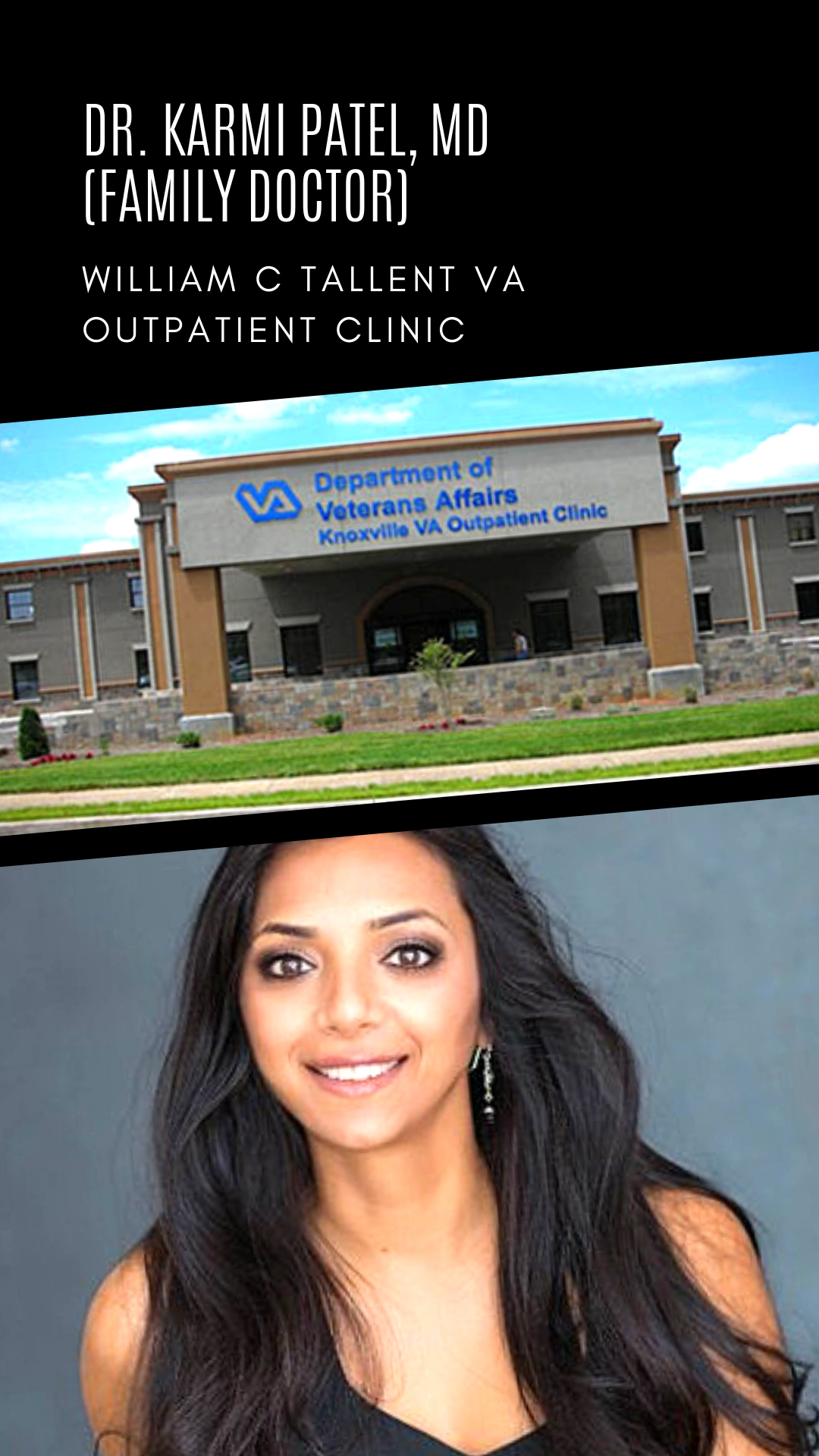 WE LOVE DR. KARMI AT THE VA!  Learn more here.